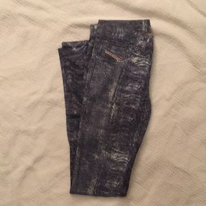 Diesel multi-color jeans